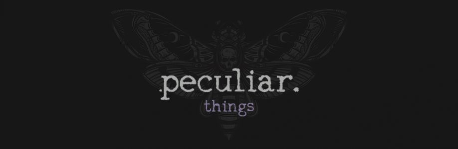 Peculiar Things Cover Image