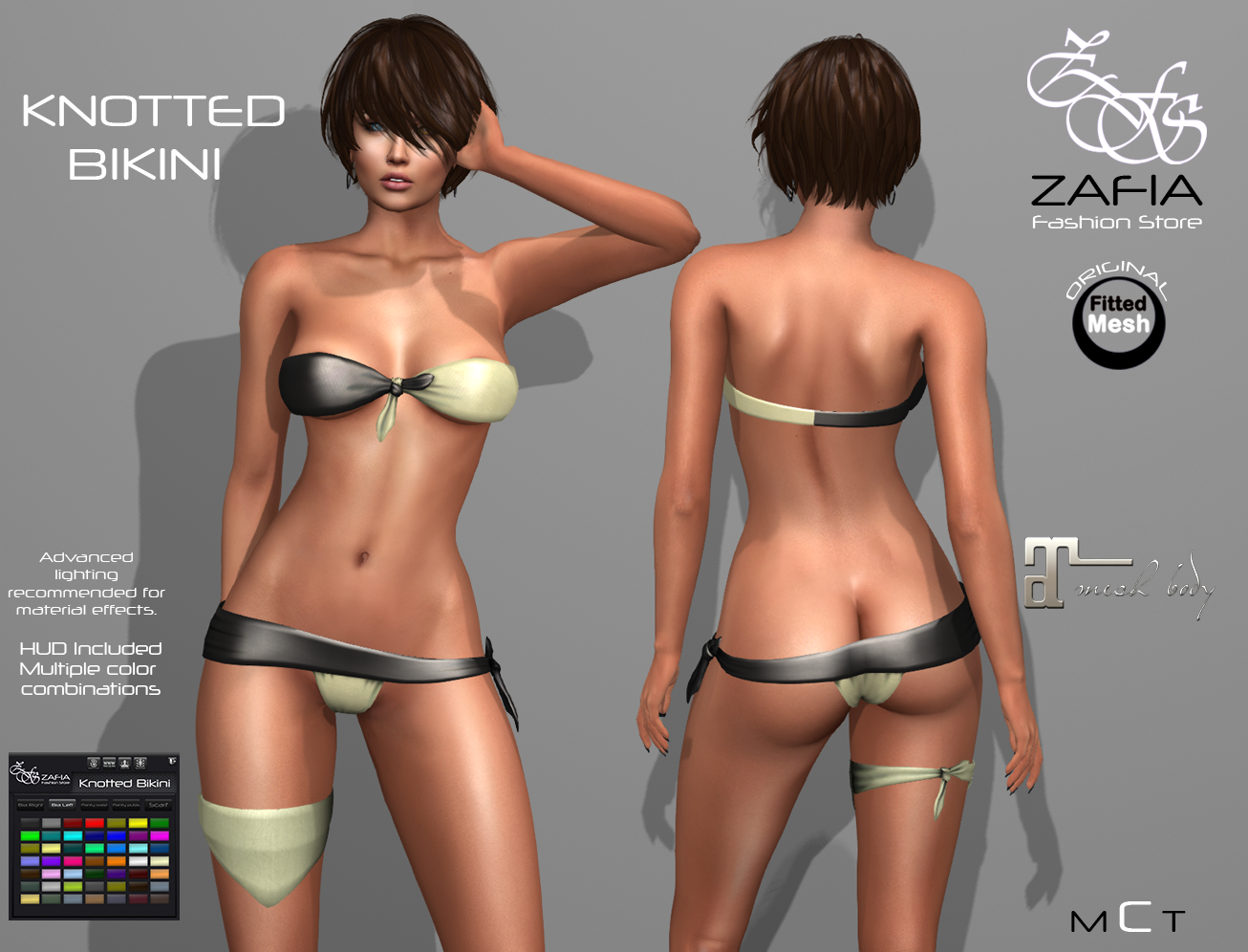 ZAFIA Knotted Bikini. Updates. – ZAFIA Fashion Store