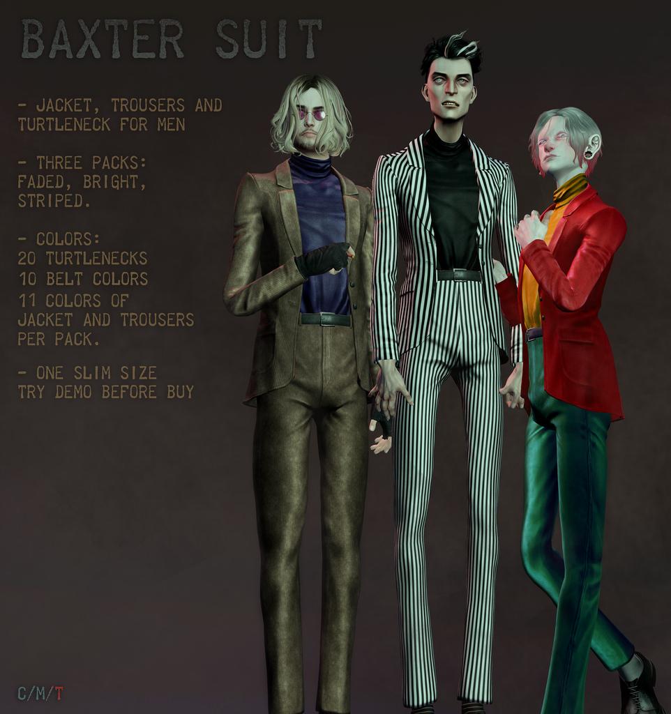 Baxter suit @ TMD