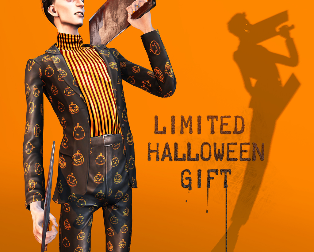 LIMITED EDITION . Halloween baxter suit . free gift  @ mainstore