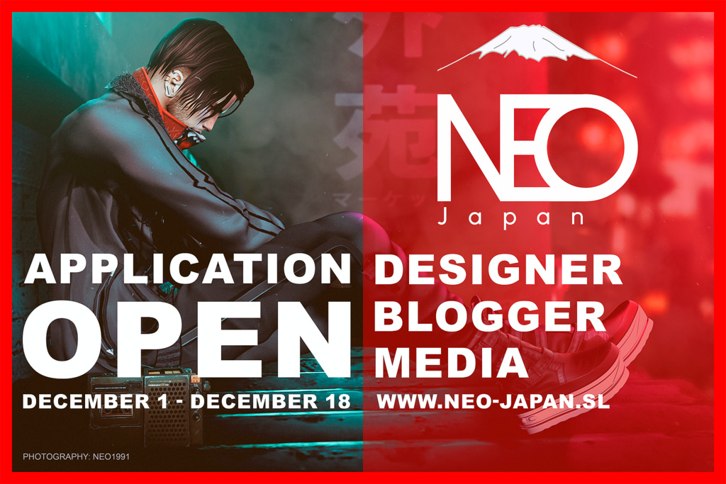 NEO-JAPAN SL EVENT :  Apply before December 18th, 2018