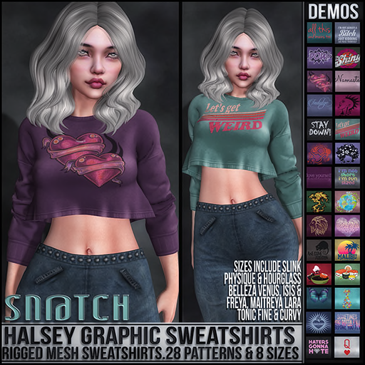 Sn@tch Wednesday | Jan 16 | Second Life Syndicate