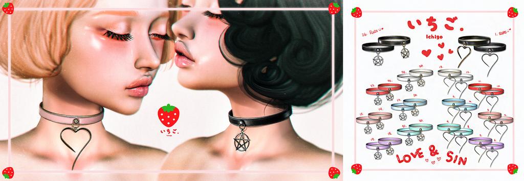 `Ichigo - Love&Sin Collar Gacha @ The Epiphany