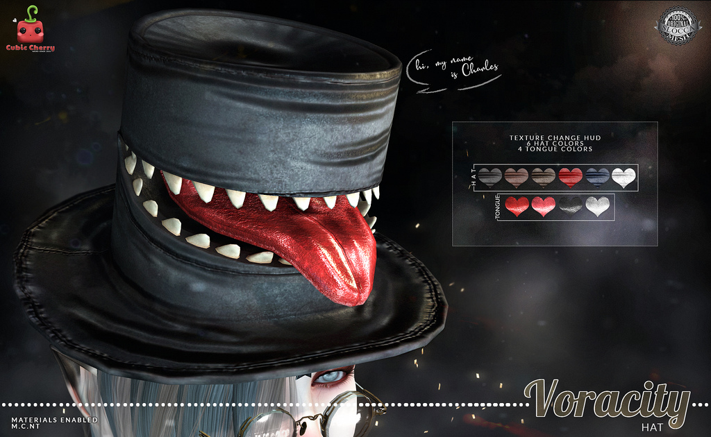{Voracity} hat  [Cubic Cherry]