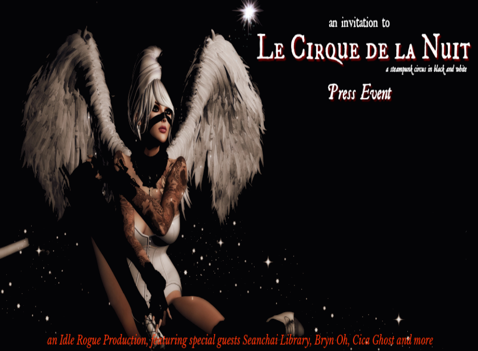 Le Cirque de Nuit in Second Life – Inara Pey: Living in a Modem World