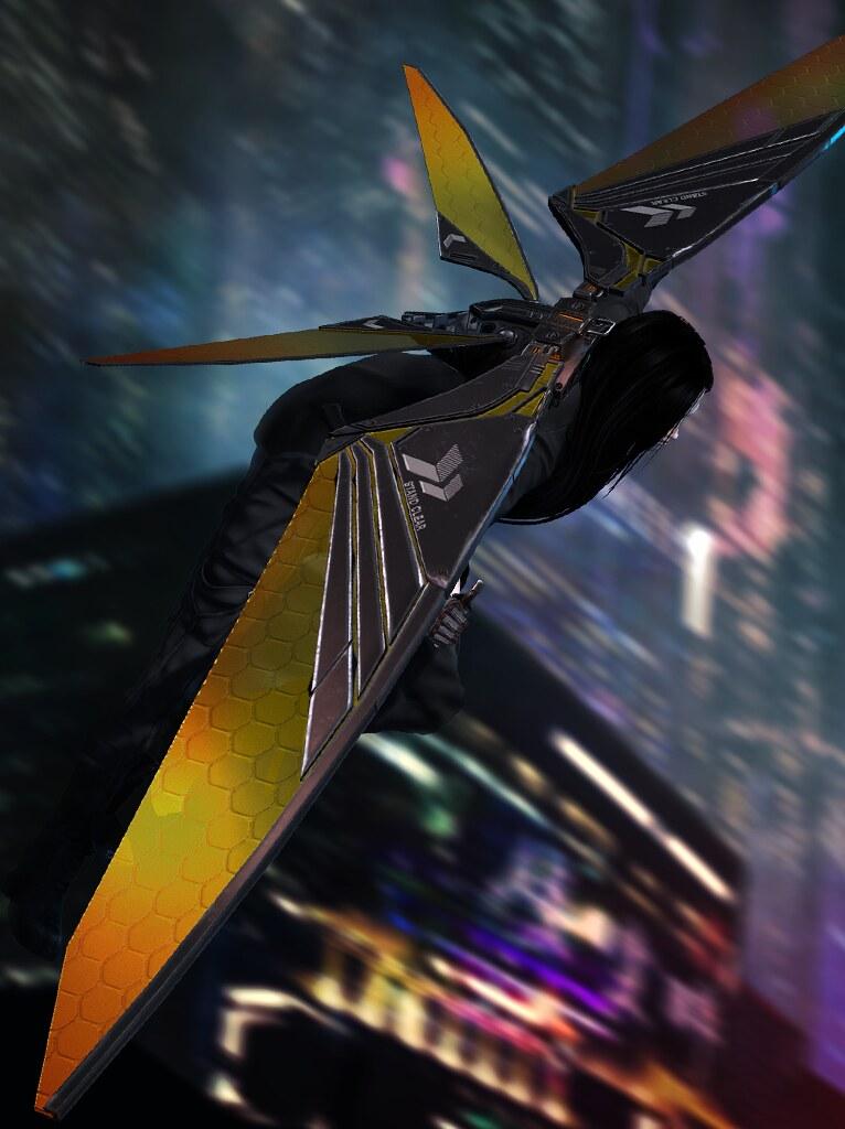 [ContraptioN] @ EQUAL10 JUNE 2019: Pondhawk Glider