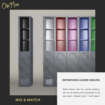 Repurposed Locker Shelves Pack Profile Picture