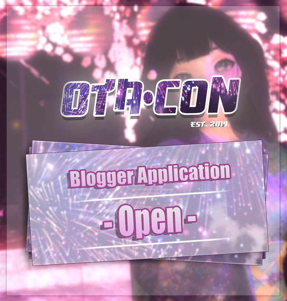 Blogger applications are now open!