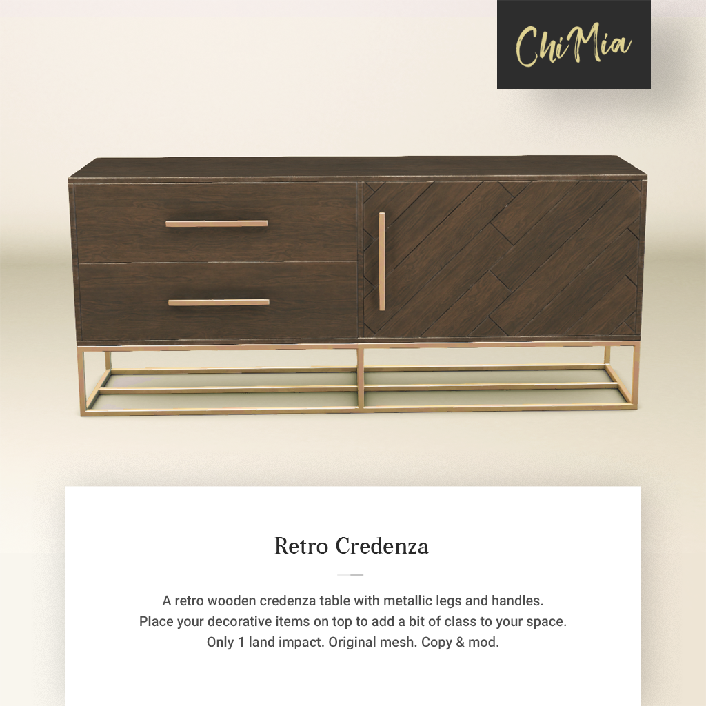 Fifty Linden Fridays 26 July 2019: Retro Credenza | ChiMia