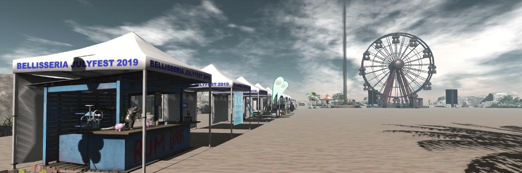 Bellisseria JulyFest in Second Life – Inara Pey: Living in a Modem World