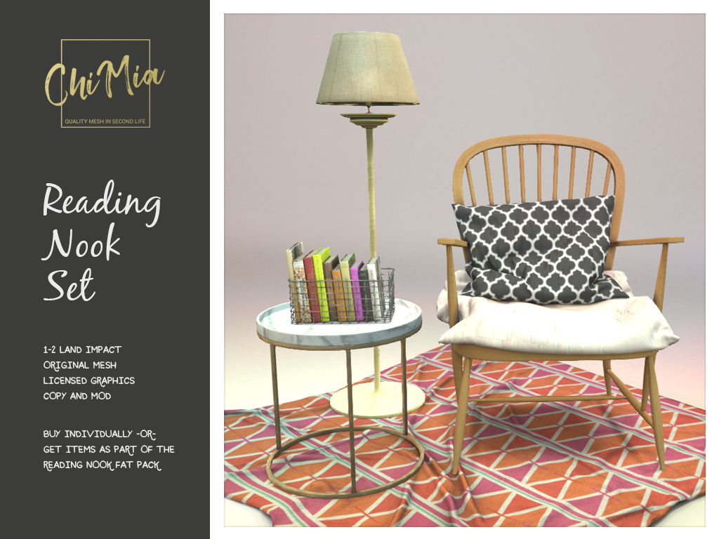The Saturday Sale 3 August 2019: Reading Nook Set | ChiMia