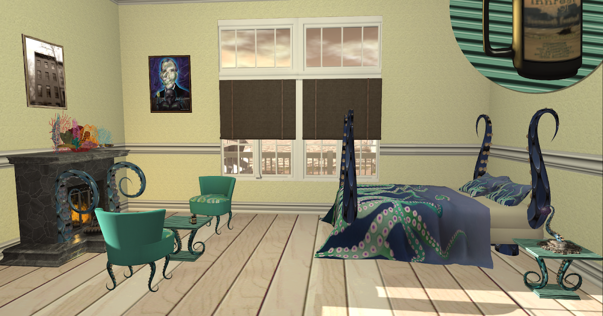 At Home with Aerlinniel: LoveCraft's Bedroom