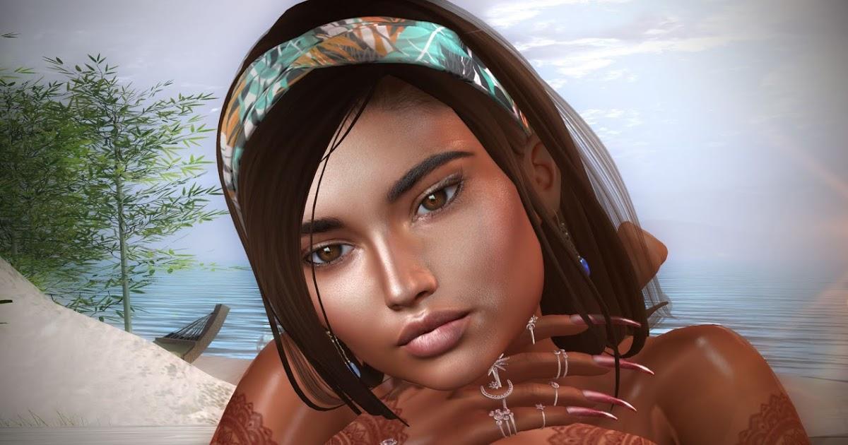SL Treasure: Your canelle skin makes me crazy! Ta peau canelle me rend fou !