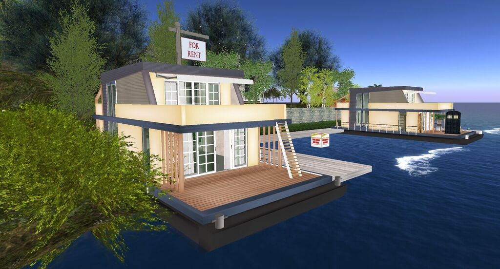 TamsynSLRentals - Super cute houseboat! Are you looking for that quiet, private, little hideaway with a water view that goes on forever? We have the perfect spot for you. - Plurk