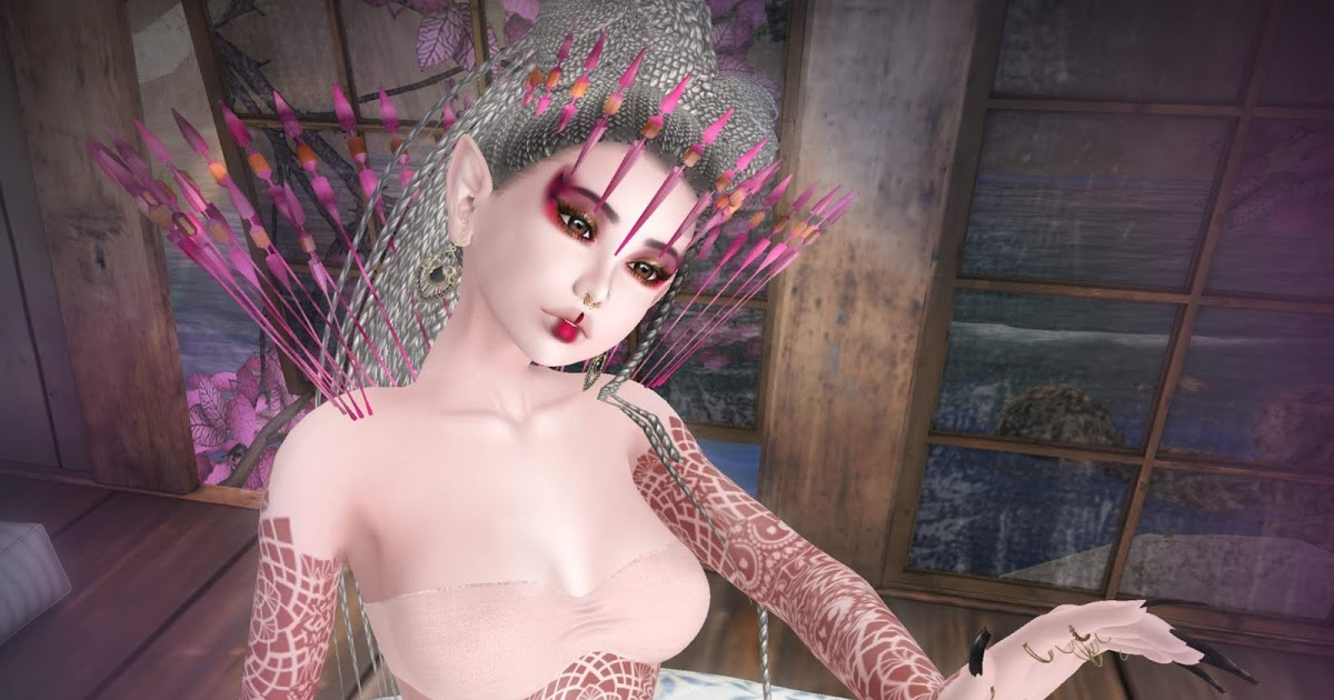 SL Treasure: Etnic Violet Queen / La reine Pourpre