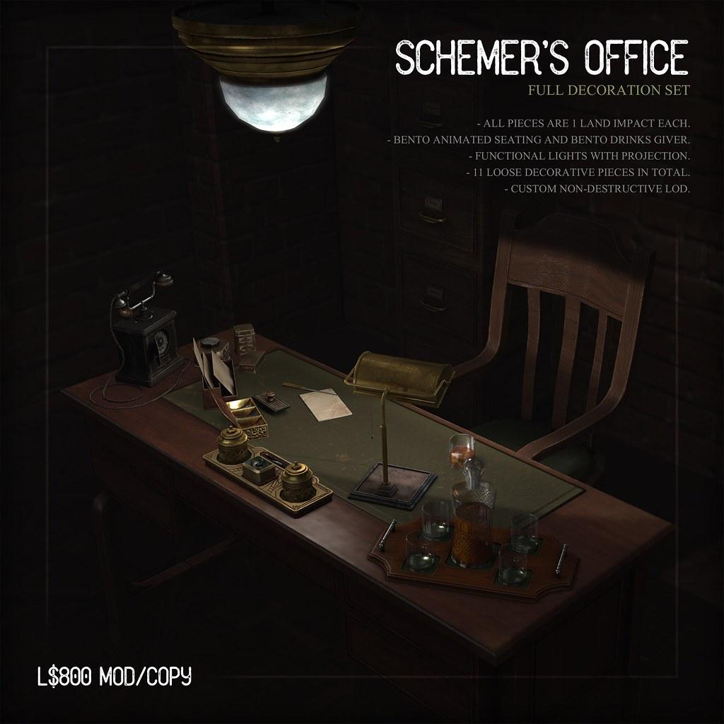 [ContraptioN] @ 6th Republic Nov 2019 - Schemer's Office